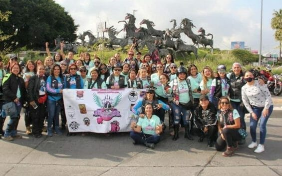 Guadalajara's Chicas Biker is Mexico's most important all-female motorcycle event.