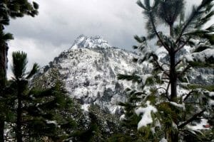 El Nevado Park is open for business, as long as you have four-wheel drive.
