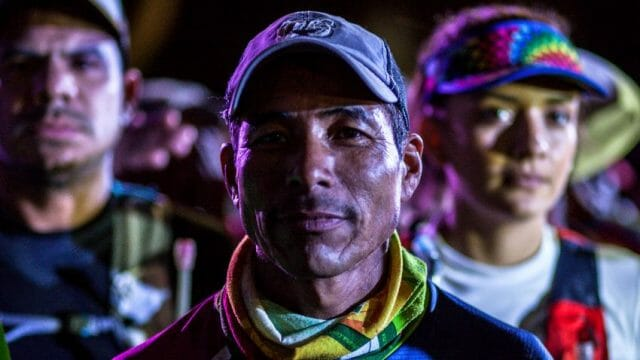 Silvino Cubesare, a Tarahumara ultramarathoner in the race that was featured in the film, won the bronze medal in the inaugural Indigenous World Games in 2015.