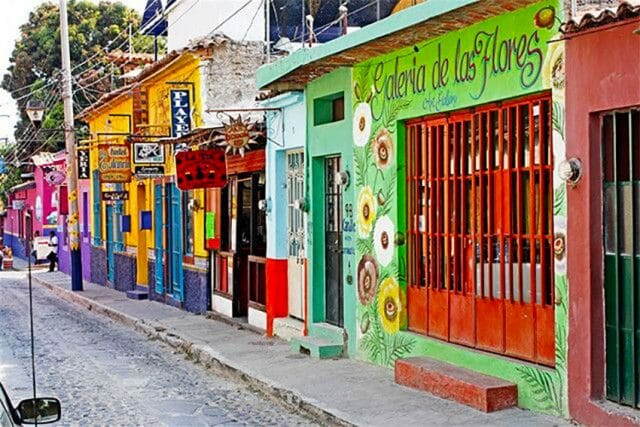 Ajijic is located on the shores of Lake Chapala.