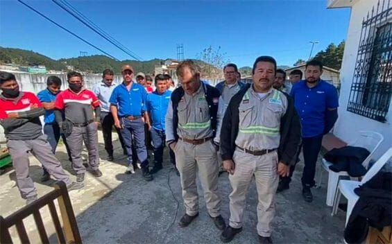 The victims of a political kidnapping in Chiapas.