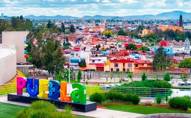 In Puebla, the capital and outlying areas are seeing the highest levels of contagion.