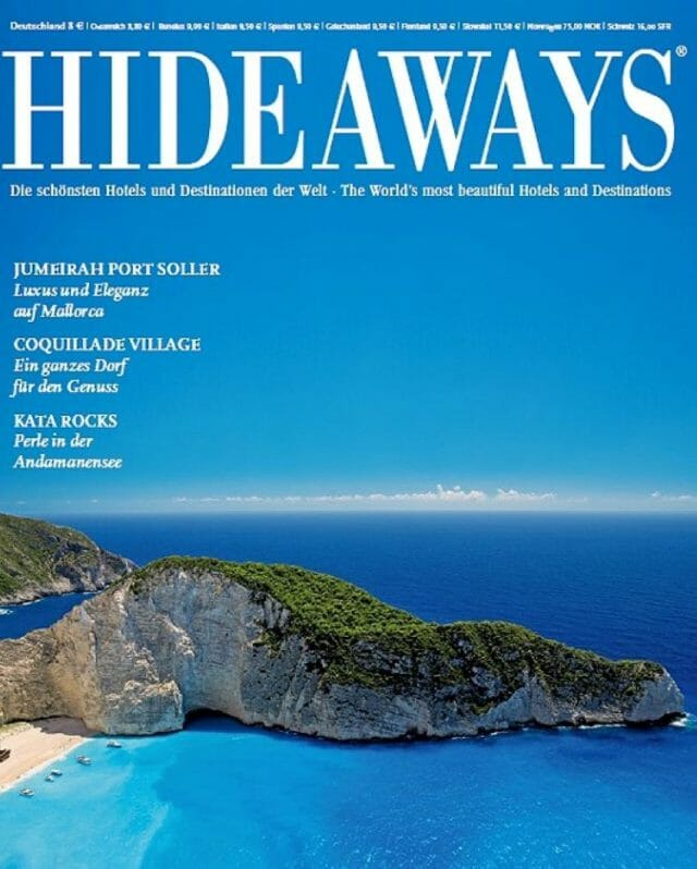 The travel magazine that inspired the writer's Mexican getaway.