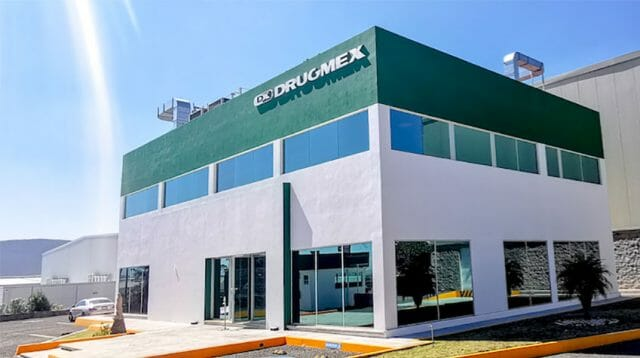 The Querétaro plant where the CanSino vaccine will be prepared for distribution in Mexico.