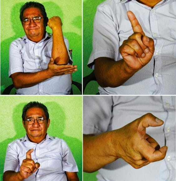 mexican hand gestures