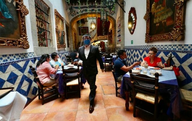 Restaurants may open indoor seating for the first time in two months.
