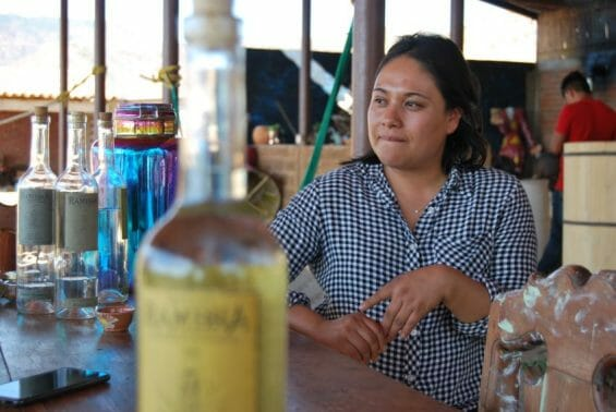 Mezcal Rambhá's founder Rosario Ángeles came from a family of tomato farmers in Oaxaca who thought she was crazy to start a distillery.