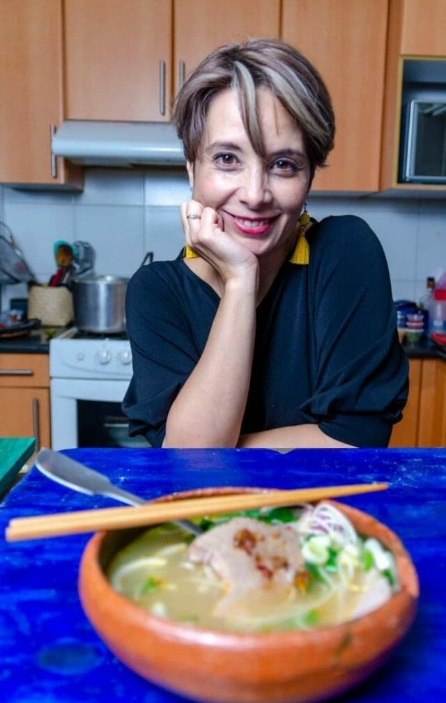 Patricia Rosenthal grew up in France and moved to Mexico City. Her food business, Bep Vietnam, features the food of her mother's heritage.