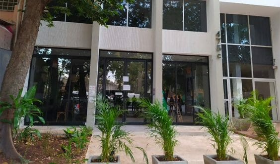 The restaurant that was closed Monday by authorities in Mérida.
