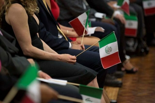 Mexico allows dual citizenship, and most other countries allow citizens to take a second national identity.