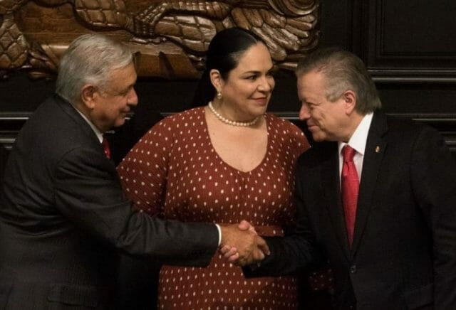 President López Obrador (left) and Arturo Zaldívar (right) are widely considered to be allies.