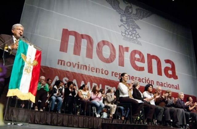 According to the Oraculus website's polling, President López Obrador has an approval rating of 63%.