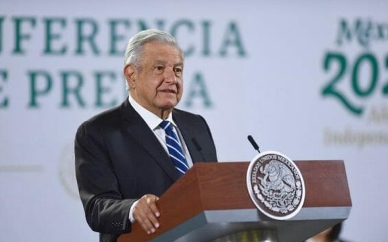 """President López Obrador warned that Supreme Court justices voting against extending the chief justice's term would support """"the regime of corruption."""""""