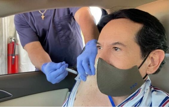 Mexican television presenter Juan José Origel was mocked for getting a Covid shot in the US. How should expats feel about getting vaccinated in their home country?