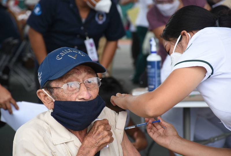 The president announced that all Mexico's seniors were offered inoculation against Covid-19, although 4 million of them elected not to be vaccinated.