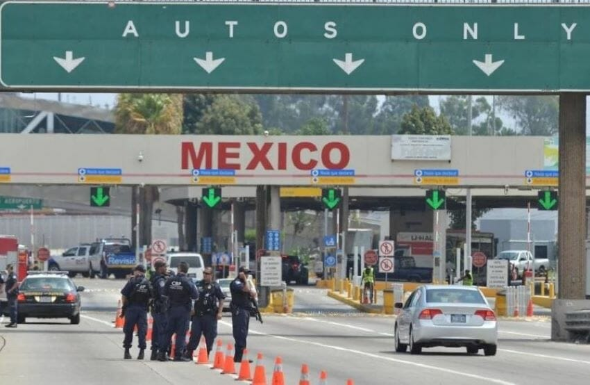 All of Mexico's northern border checkpoints will be open to nonessential traffic except those in Chihuahua.