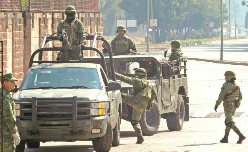One concern cited in the report was the government's continued use of soldiers for everyday public security tasks despite the agency's recommendations.