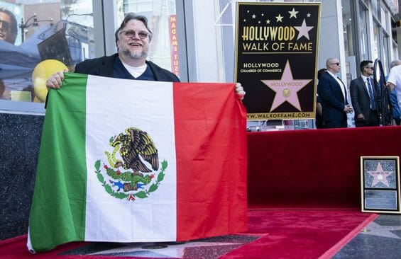 Guillermo del Toro at Hollywood Walk of Fame