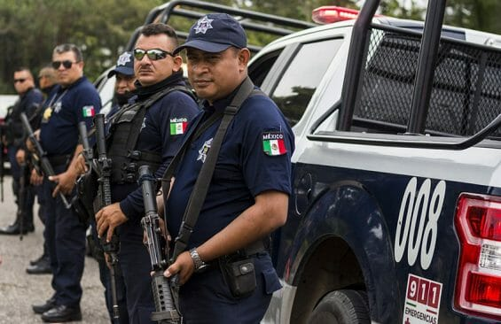 According to an assessment by the federal government, Mexico has half the officers it should by international standards.