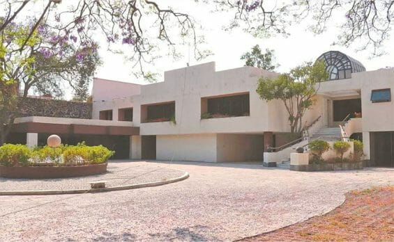 The Mexico City mansion of former cartel boss Amado Carrillo Fuentes.