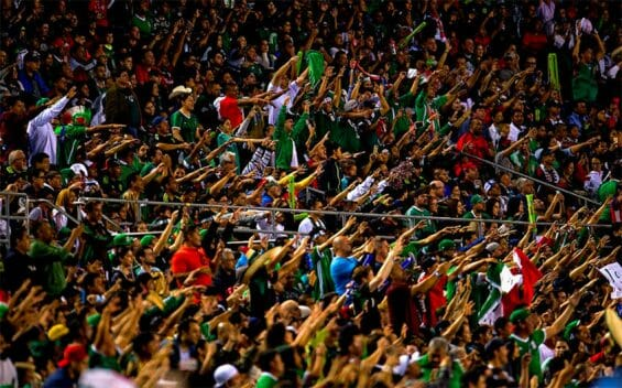 Mexican fans give voice to their chant