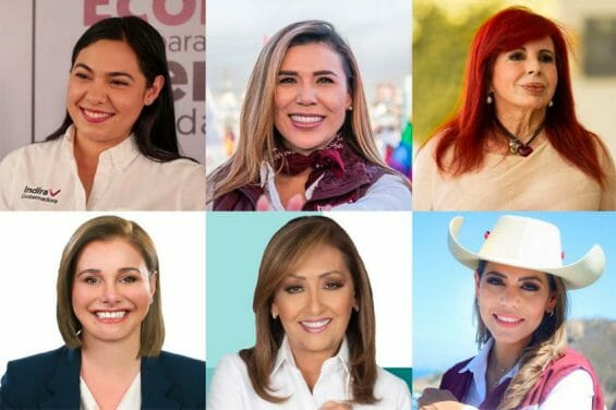 Mexico's six new female governors