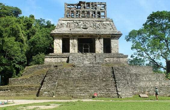 Palenque's Temple of the Sun
