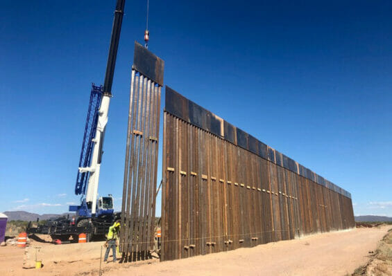 Construction of the United States-Mexico border wall