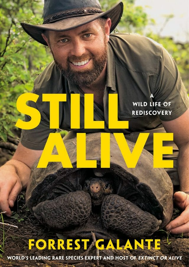 Galante's new memoir, Still Alive: A Wild Life of Rediscovery