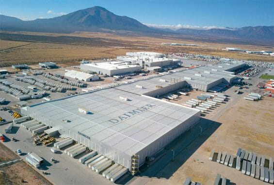 An industrial park in Derramadero, which would be linked by train with Ramos Arizpe.