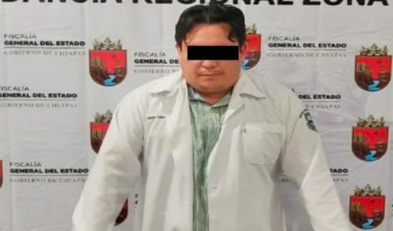 The allegedly fake doctor