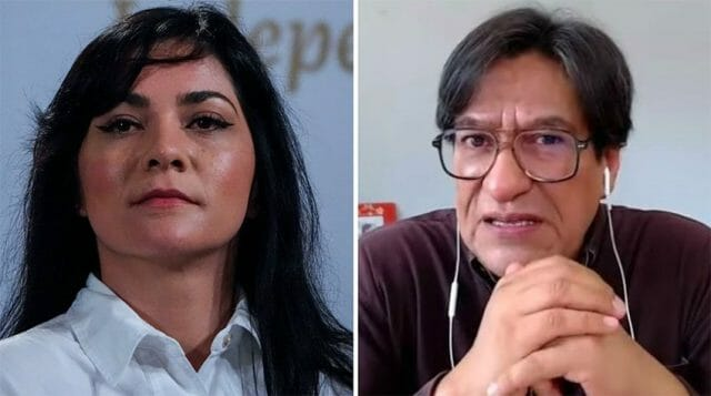 Julio Hernández appeared Wednesday to defend himself against accusations made last week by the government's Ana Elizabeth García