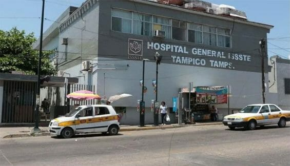 The ISSSTE General Hospital in Tampico, Tamaulipas.