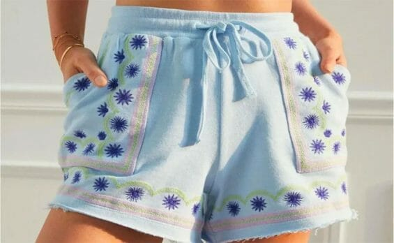 The contentious shorts sold by Anthropologie.