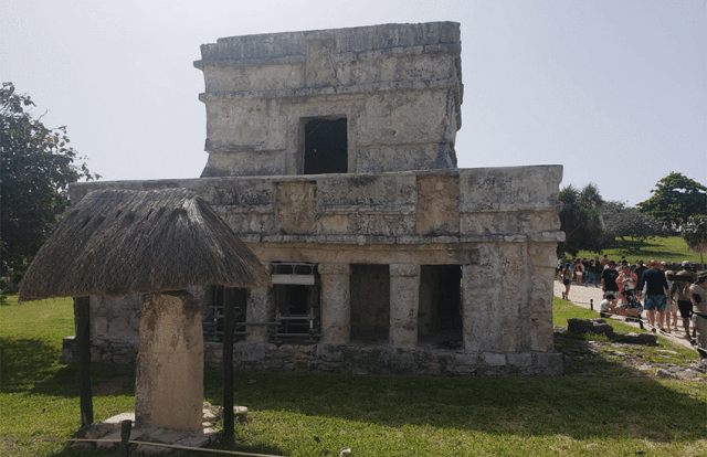 Tulum ruins - Temple of the Frescoes