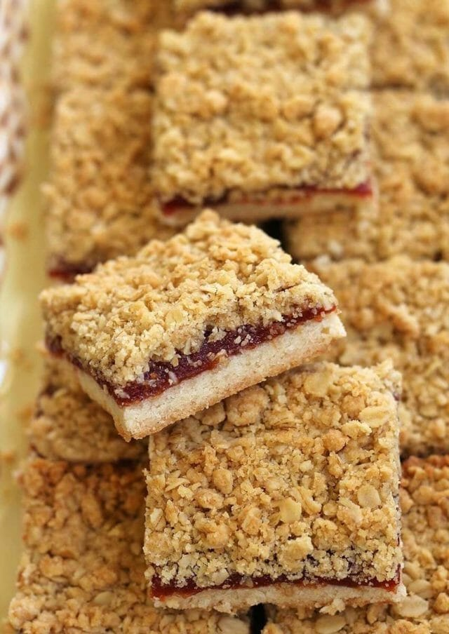 Guava cookie bars