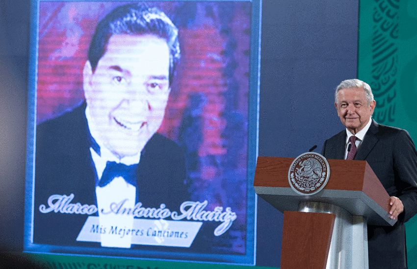 AMLO at press conference August 5, 2021