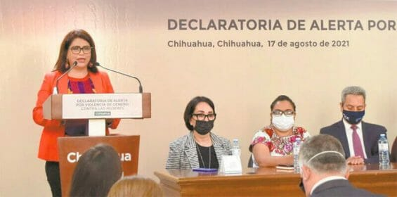 Government and NGOs were present at Tuesday's announcement.