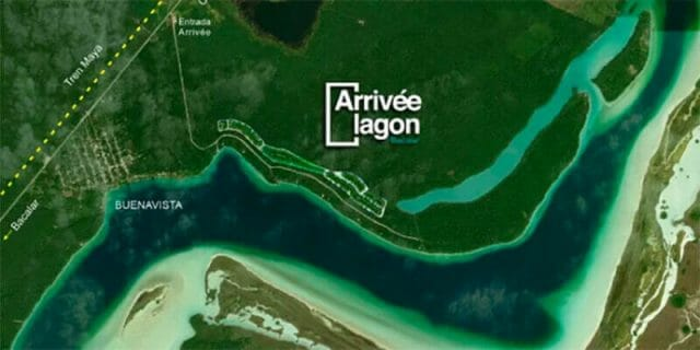 The project is located near the route of the Maya Train.