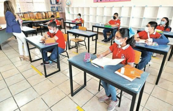 One in four students fears catching Covid at school.