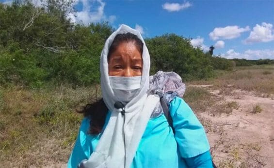 Martha Castillo was among searchers at a site earlier this month in Tamaulipas