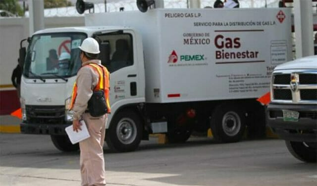 Gas deliveries have begun in Iztapalapa.