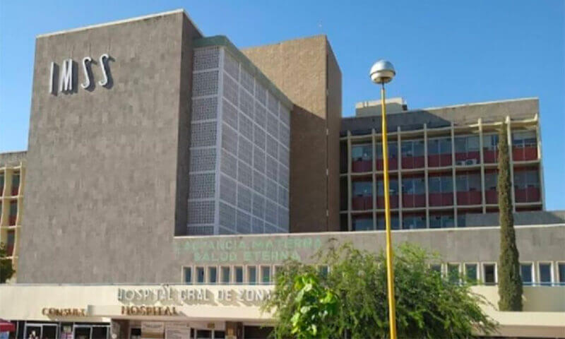The Torreón hospital in which a baby was mistakenly pronounced dead.