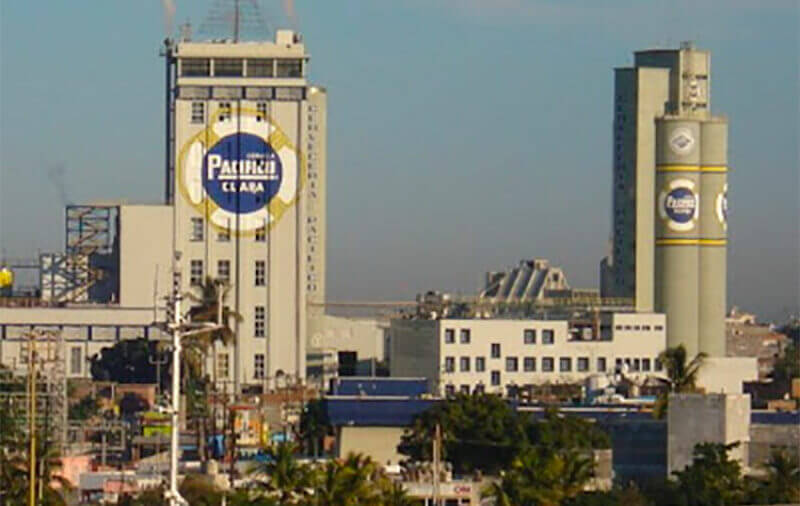 The Pacífico brewery