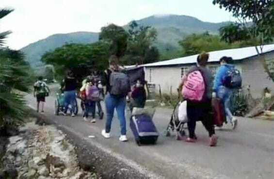 Refugees from Coalcomán