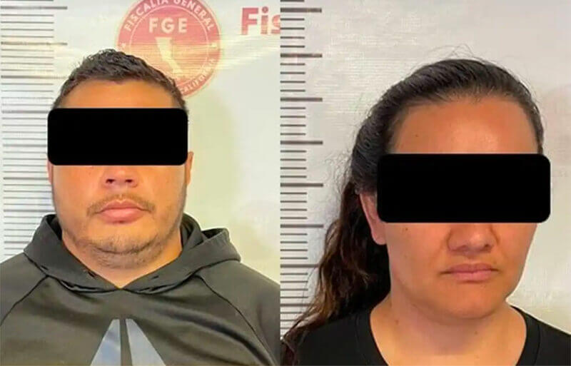 The suspects arrested Tuesday in Tijuana.