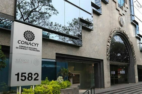 Headquarters of the national science agency Conacyt.