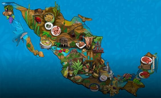 """Google's new """"Taste Mexico"""" website offers visitors the opportunity to learn about the culture and history of Mexican food."""