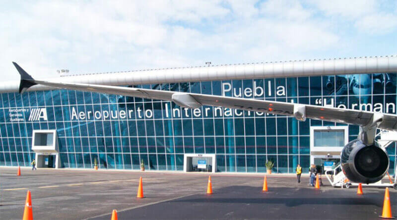 The airport at Puebla is one of 19 operated by ASA.