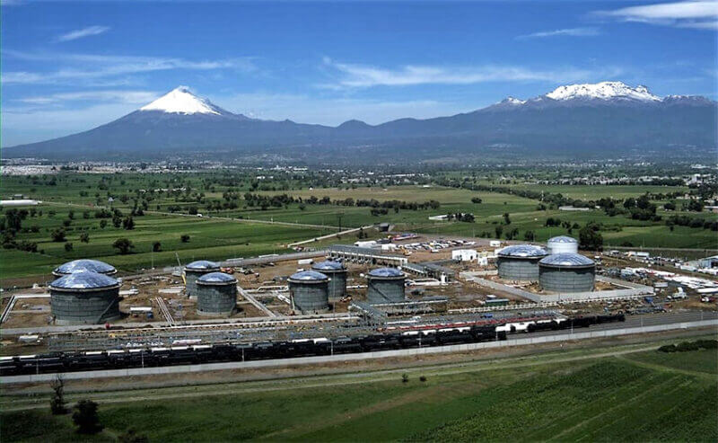 The IEnova terminal in Puebla is one of the storage facilities that the CRE has recently shuttered.